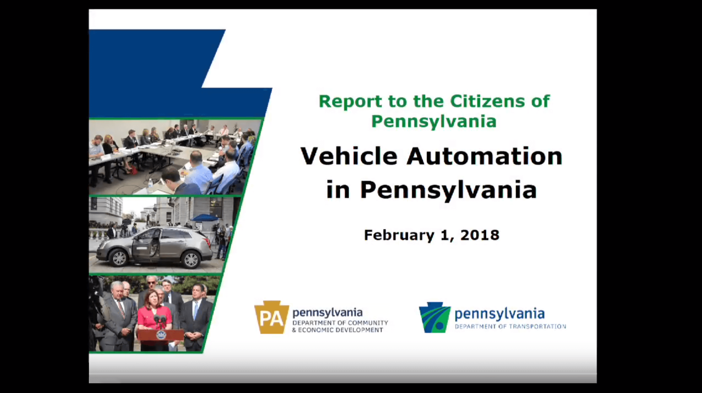Vehicle Automation in Pennsylvania