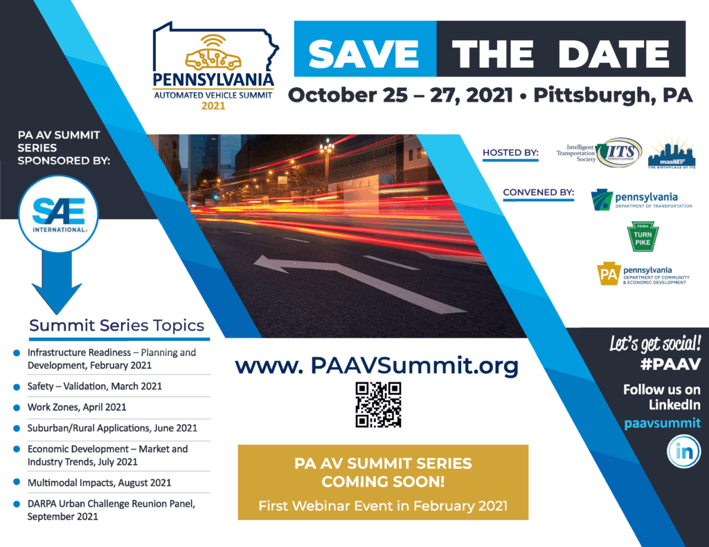Save the date flyer for the 2021 summit series